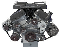 v12 engine 3D