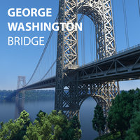 George Washington Bridge with Tollbooth, New York