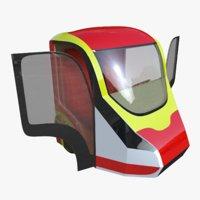 car automobile 3D model