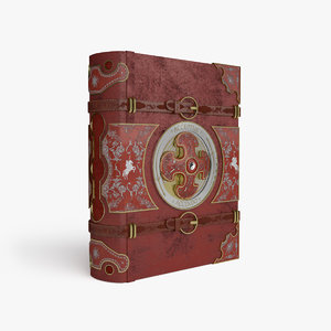 magic book 3D model