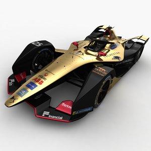 techeetah formula e season 3D model