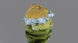 3D sweet cake model