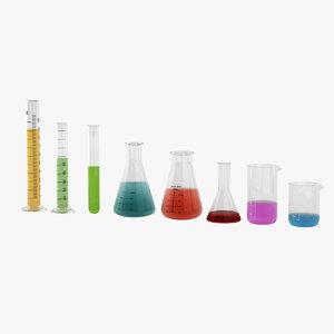 3D test tubes