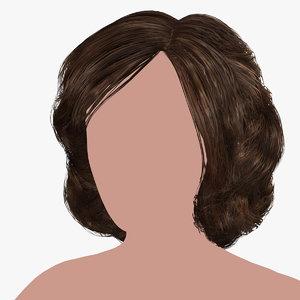 hairstyle 13 hair model
