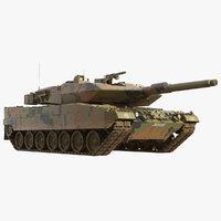 leopard 2a5 tank 2 model