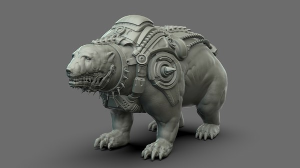 3D soleucy - bear hunter