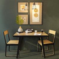 Dining table and chair Unika Monsteras. Unikamoblar