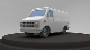 van vehicle model