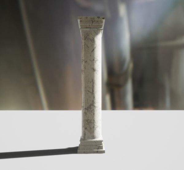 set pillars 3D