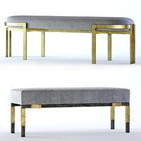 elliott bench larchmont 3D
