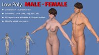Character Male - Female