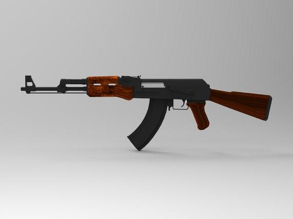 ak-47 7 3D model
