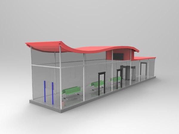 3D metro st