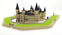 castle architecture 3D