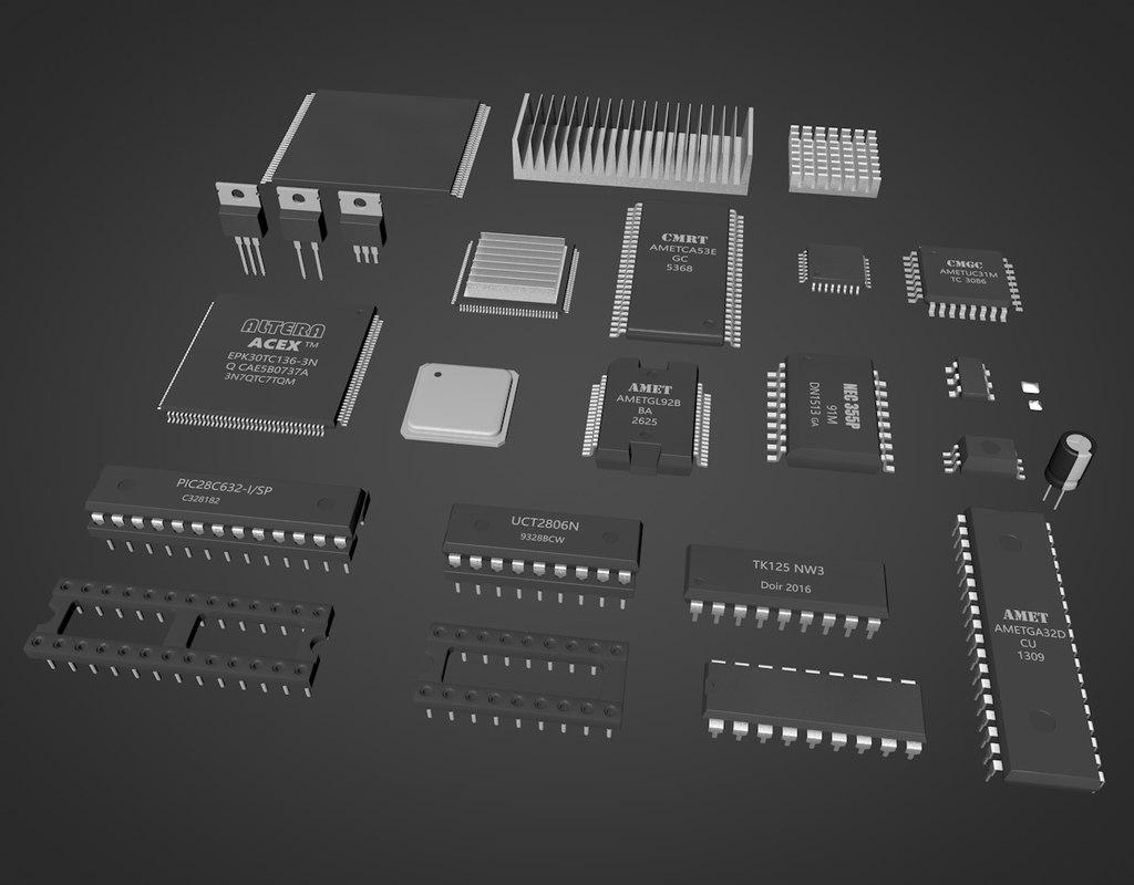 3D chip circuit ic