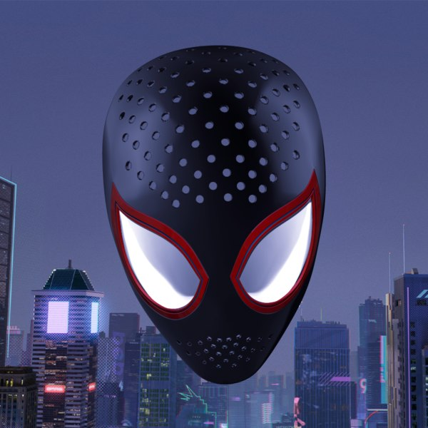 faceshell lenses miles morales 3D model