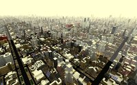 Large scale city scene (cityscape ) limited time sale