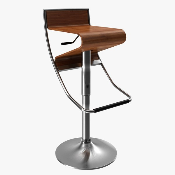 bar stool chair 3D model