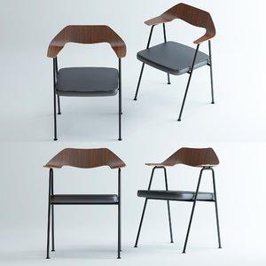 case-675-chair 3D model