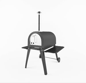 milano pizza oven 3D