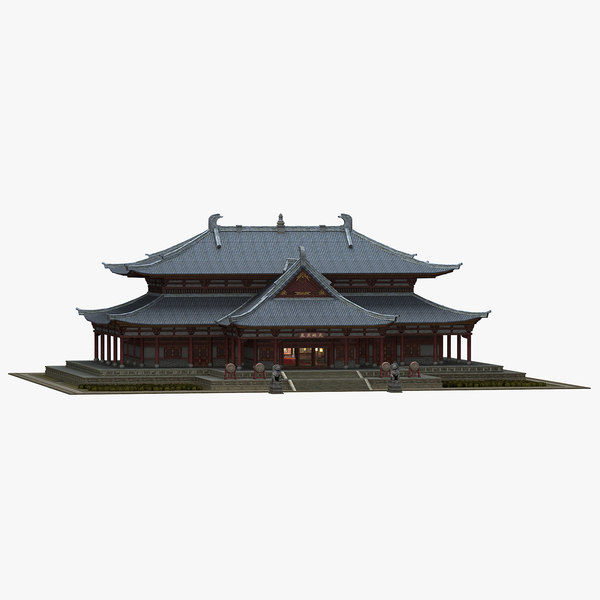 chinese ancient architecture 3D model