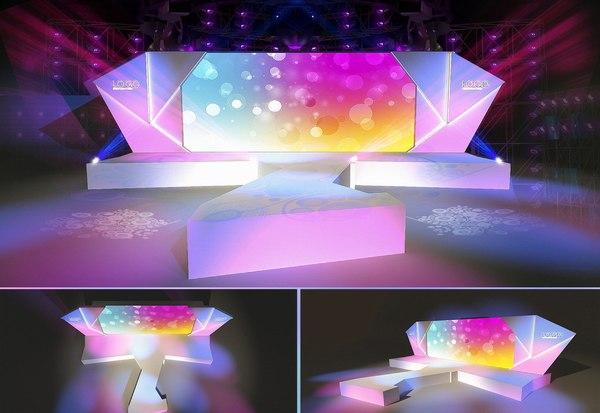 carnival stage 35 3D model