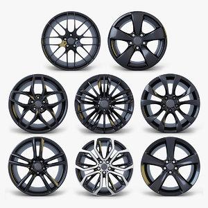 car rim wheel volume 1 3D
