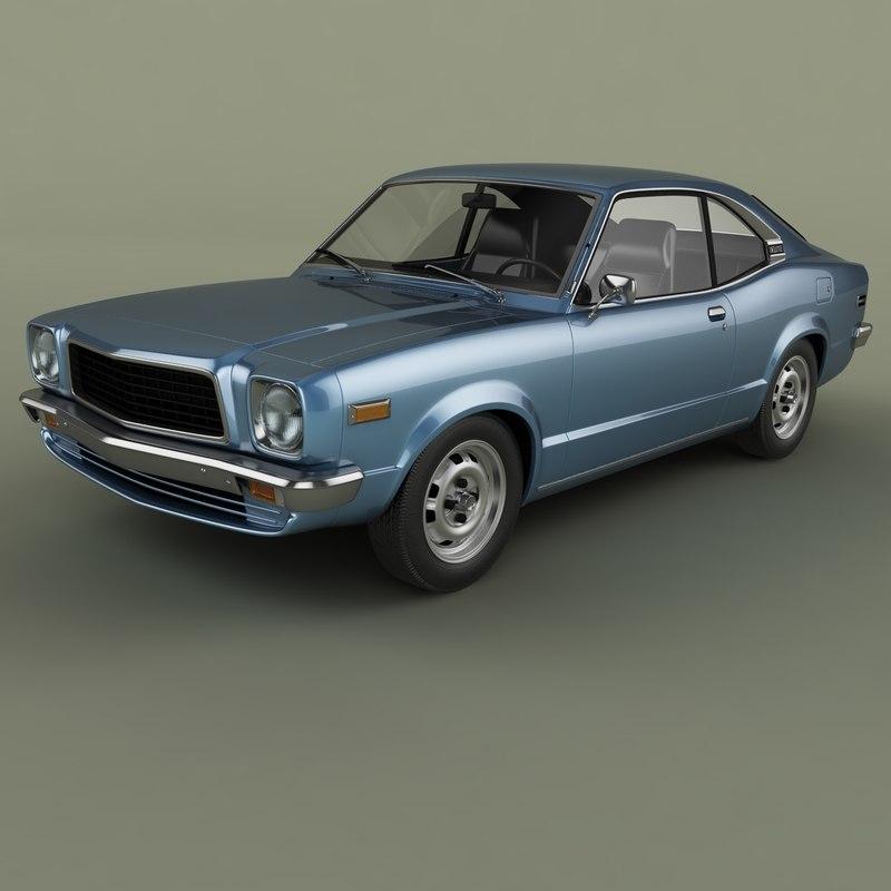 1971 mazda 818 grand 3D model