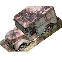 Old wreck truck photogrammetry