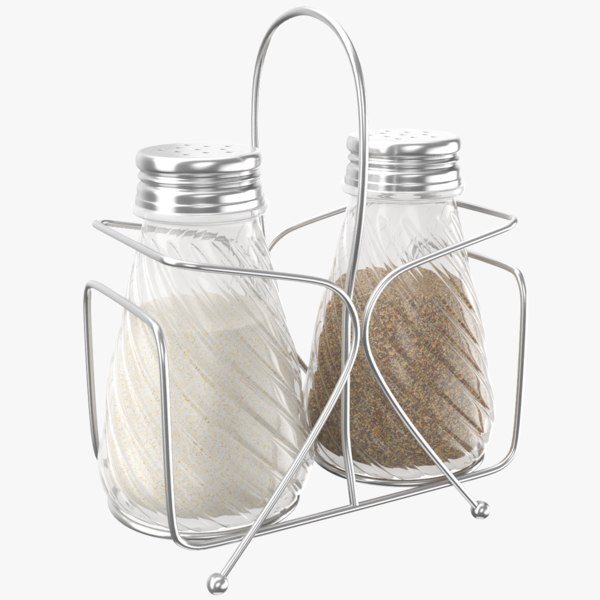 salt pepper rack 3D model