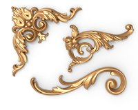 Acanthus leaf carving mini collection