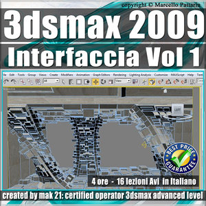 001 Corso 3ds max 2009 Interfaccia vol.1
