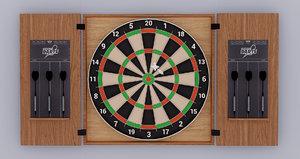 3D model wood dart