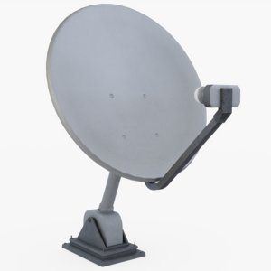 home satellite 3D model