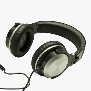 dj headphones 3D
