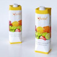 3D bottle juice
