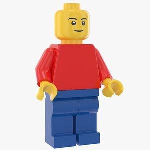 lego standard figure model