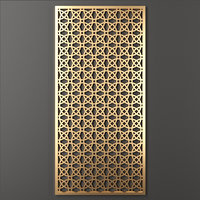 3D model decorative panel