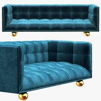3D claridge sofa