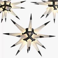 rock star ceiling light 3D model