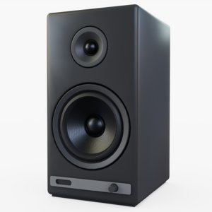 speakers electronics 3D model