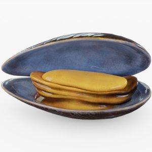 mussel 3D