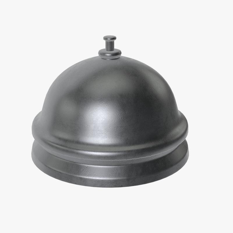 reception bell 3D