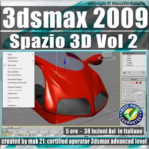 002 Corso 3ds max 2009 Spazio 3D vol.2