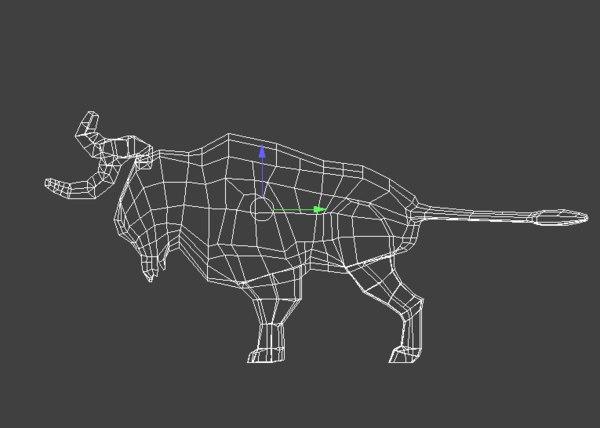 bison wildlife 3D model