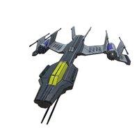light space fighter model