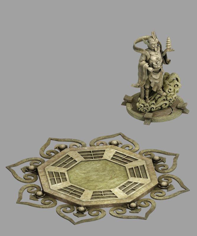 3D gang - decorative stone