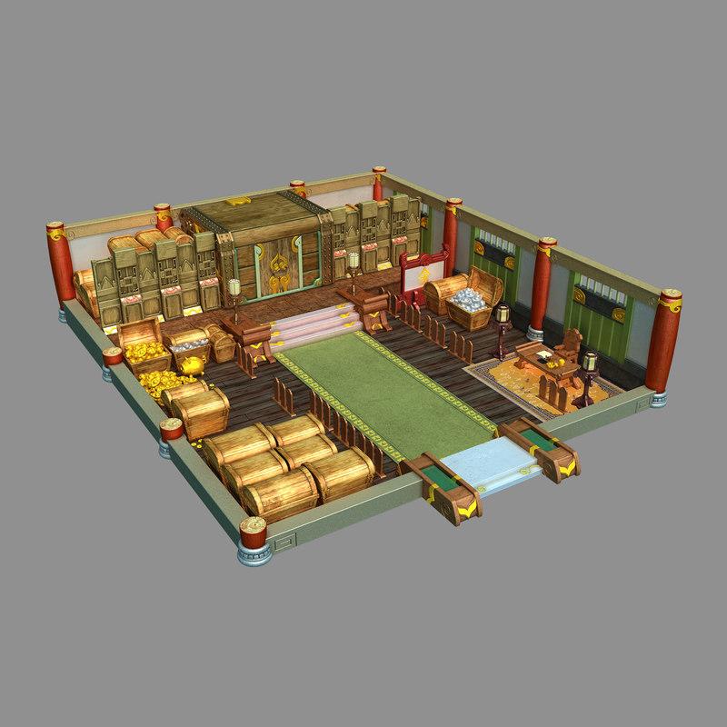 3D gang indoor - advanced