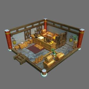 3D gang interior - junior