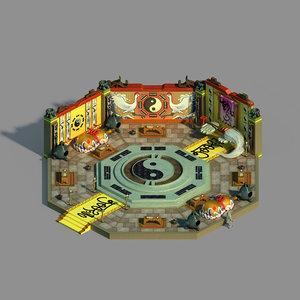 gang indoor - feng 3D model
